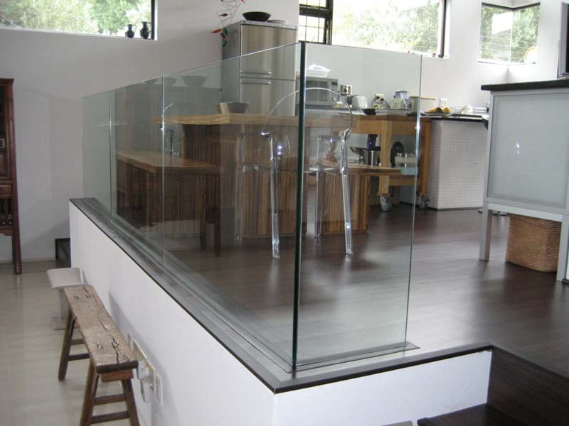 Glass And Steel Railings